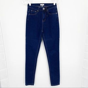 Tobi Skinny Jeans Sz 25 High Rise Dark Wash Jeans